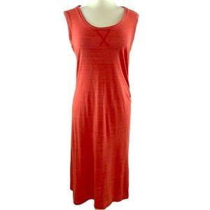 C & C California sleeveless jersey midi dress